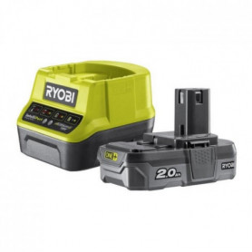RYOBI Pack chargeur + Batterie - 18V 2Ah