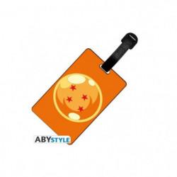 Etiquette de bagage Dragon Ball - DBZ/ Boule de cristal - AB