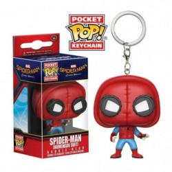Porte-clé Funko Pocket Pop! Marvel : Spider-Man (Homemade Su