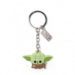 Porte-clés en caoutchouc Star Wars: Yoda