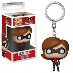 Porte-clé Funko Pocket Pop! Disney - Les Indestructibles: El
