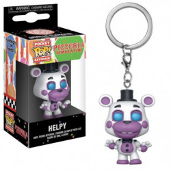 Porte-clé Funko Pocket Pop! Five Nights At Freddy's: Pizza S