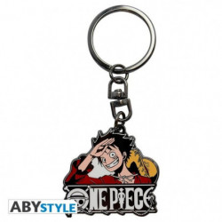 Porte-clés One Piece - Luffy New World - ABYstyle