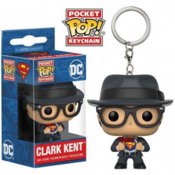 Porte-clés Pocket Pop! DC Comics - Superman: Clark Kent