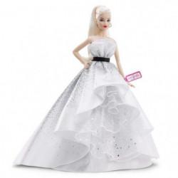 BARBIE - Barbie 60eme Anniversaire Blonde - Poupée Mannequin