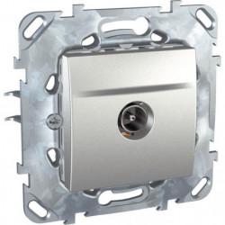 SCHNEIDER ELECTRIC Prise TV Unicatop aluminium