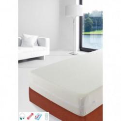STIPI Rénove-matelas 100% Coton 140x190-200 cm blanc