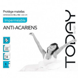 TODAY Protege Matelas / Alese Imperméable Anti-Acariens 90x1