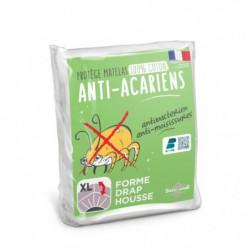 SWEETHOME Protege-matelas 100% coton - Anti-acariens - 180x2
