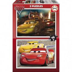 EDUCA - Puzzle 2x48 CARS3