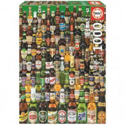 EDUCA Puzzle 1000 Pieces - Bieres