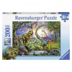 Puzzle 200 pcs Dinosaures