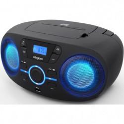 BIGBEN CD61NUSB LECTEUR CD/USB/RADIO portable avec effets lu