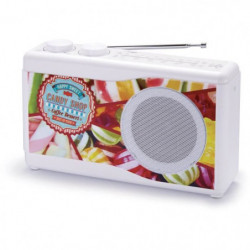 BIGBEN TR23CANDY Radio portable - Tuner analogique - Candy S