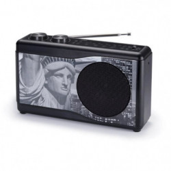 BIGBEN TR23BLACK Radio portable - Tuner analogique - Statut