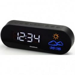 AUDIOSONIC CL-1489 Radio Réveil Prévision météo - Réglage de