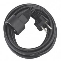 DEBFLEX Rallonge 3 m 16 A noir