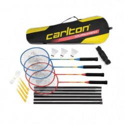 CARLTON Set de Badminton Tournament - Pour 4 joueurs