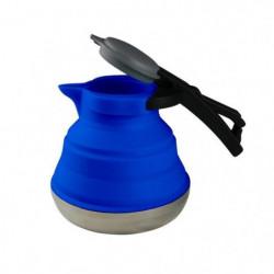 CAO CAMPING Bouilloire Silicone Bleu 1,2 Litres