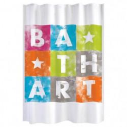 GELCO Rideau de douche Bath Art 180 x 200 cm multicolore