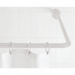 RIDDER Barre extensible - 90x90cm - Blanc