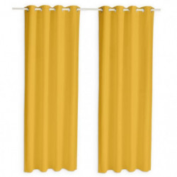 TODAY Paire de rideaux isolants thermiques - 140 x 240 cm -