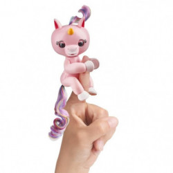 FINGERLINGS Bébé Licorne Gemma Rose - Robot interactive