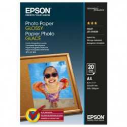 EPSON Papier photo brillant S042538 - 200g/m2 - A4 - 20 feui