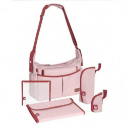 BABYMOOV Sac a langer Urban Bag Rose Poudré Chiné
