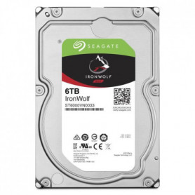 SEAGATE Disque dur IronWolf 6 To - ST6000VN0033