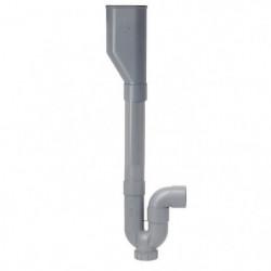 SOMATHERM Siphon traditionnel - Double ABS horizontale avec