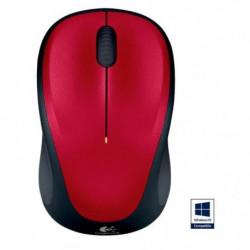 Logitech souris sans fil optique - M235 Red