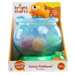 BRIGHT STARTS Jouet d'éveil Funny Fishbowl