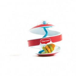 TINY LOVE Spirale d'activité avec anneaux - Rouge