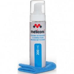 MELICONI C-200 FOAM Mousse nettoyante 200mL avec chiffon mic