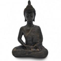 ZEN Statuette Bouddha Thai - 21 x 13 x 7 cm - Marron