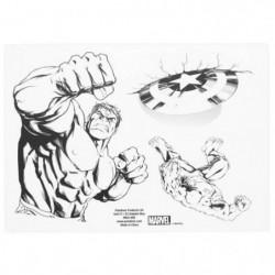 16 autocollants Marvel: Avengers