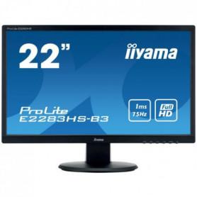 "IIYAMA Ecran 21,5"" - Full HD - LED - 1 ms"