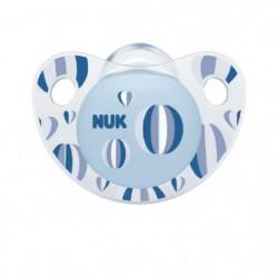 NUK 2 Sucettes Taille 3 Trendline Day - Garçon