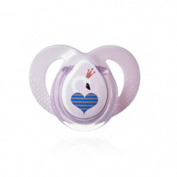 TOMMEE TIPPEE Sucette Moda Close To Nature 6-18m - Fille x1