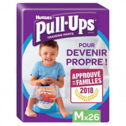 HUGGIES Pull Ups Economy Garçon Taille 5 M - De 11 a 18Kg -