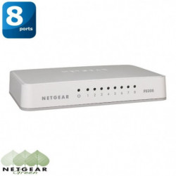 Switch Reseau - Switch 8 ports 10/100 RJ45