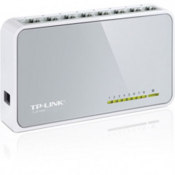 TP-LINK Switch 8 PORTS 10/100 PLASTIQUE -SF1008D