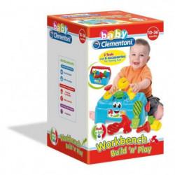 CLEMENTONI Baby - Atelier de Bricolage - Jeu d'éveil