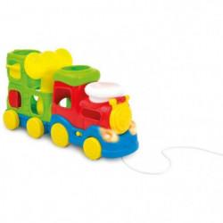 Train d'éveil interactif bébé a tirer
