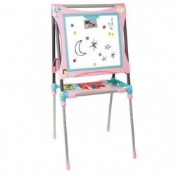 SMOBY Tableau Evolutif Double Face +80 Acs Rose