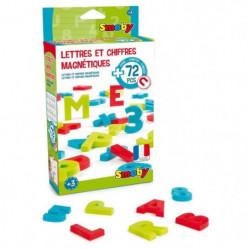 SMOBY 72 Lettres & Chiffres Magnetiques Majuscules