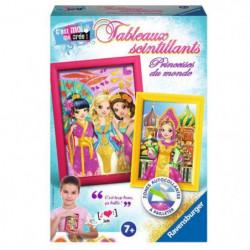 RAVENSBURGER Tableaux Scintillants Princesses du Monde