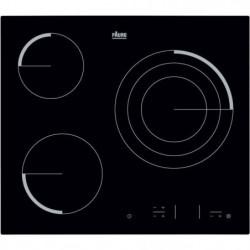 FAURE FEV6334FBA Table de cuisson vitrocéramique-3 zones-570