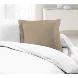 LOVELY HOME Lot de 2 Taies d'Oreillers 100% coton 63x63 cm -